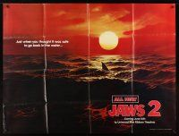 3x177 JAWS 2 subway poster '78 classic 'just when you thought it was safe' teaser image!
