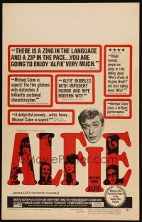 3x003 ALFIE WC '66 British cad Michael Caine loves them and leaves them, ask any girl!