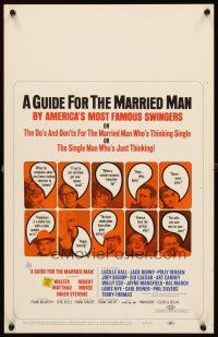 3x058 GUIDE FOR THE MARRIED MAN WC '67 written by America's most famous swingers!