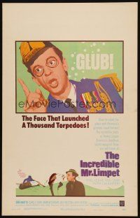 3x068 INCREDIBLE MR. LIMPET WC '64 wacky Don Knotts turns into a cartoon fish!