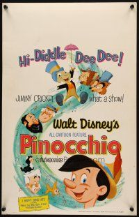 3x105 PINOCCHIO WC R62 Disney classic fantasy cartoon about a wooden boy who wants to be real!