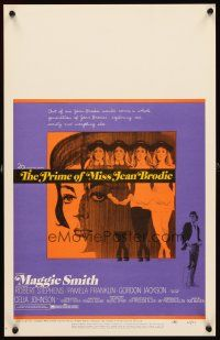 3x108 PRIME OF MISS JEAN BRODIE WC '69 Maggie Smith, Pamela Franklin, Robert Stephens, different!