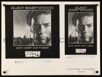 4j034 SUDDEN IMPACT 8 page press ad slicks '83 Clint Eastwood is at it again as Dirty Harry!