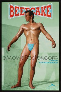 4j075 BEEFCAKE green style special 11x17 '98 bio of Bob Mizer, founder of the Athletic Model Guild!