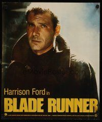 4j079 BLADE RUNNER special 17x20 '82 Ridley Scott sci-fi classic, image of Harrison Ford!