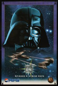 4j066 STAR WARS TRILOGY Pepsi tie-in special 24x36 '97 Episode 4: A New Hope!