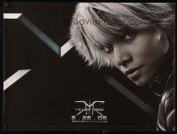 4j031 X-MEN: THE LAST STAND vinyl banner '06 super close-up of sexy Halle Berry!