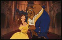 4j073 BEAUTY & THE BEAST set of 8 special 17x27s '91 images from Walt Disney cartoon classic!
