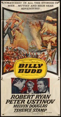 4s573 BILLY BUDD 3sh '62 Terence Stamp, Robert Ryan, mutiny & high seas adventure!