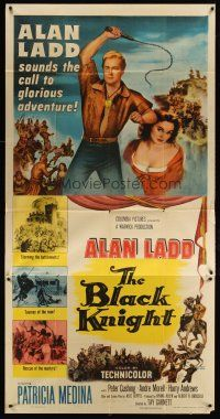 4s576 BLACK KNIGHT 3sh '54 Alan Ladd's biggest adventure, sexy Patricia Medina!