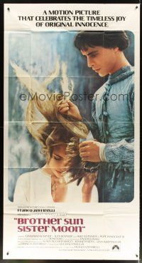 4s587 BROTHER SUN SISTER MOON int'l 3sh '73 Franco Zeffirelli's Fratello Sole, Sorella Luna!