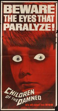 4s602 CHILDREN OF THE DAMNED 3sh '64 beware the creepy kid's eyes that paralyze!