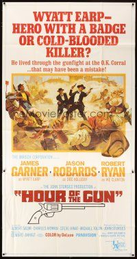 4s676 HOUR OF THE GUN 3sh '67 James Garner as Wyatt Earp, John Sturges, was he a hero or killer?