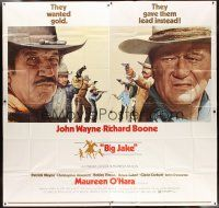4s228 BIG JAKE 6sh '71 Richard Boone wanted gold but John Wayne gave him lead instead!