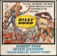 4s229 BILLY BUDD 6sh '62 Terence Stamp, Robert Ryan, mutiny & high seas adventure!
