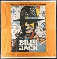 4s230 BILLY JACK int'l 6sh '71 best completely different art of Tom Laughlin by Ermanno Iaia!