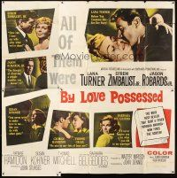 4s236 BY LOVE POSSESSED 6sh '61 sexy Lana Turner, Efrem Zimbalist Jr., directed by John Sturges!