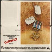 4s237 CATCH 22 int'l 6sh '70 directed by Mike Nichols, based on the novel by Joseph Heller!