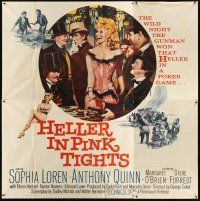 4s260 HELLER IN PINK TIGHTS 6sh '60 sexy blonde Sophia Loren, great gambling image!