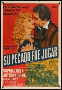 4s164 HELLER IN PINK TIGHTS Argentinean R60s sexy blonde Sophia Loren w/Anthony Quinn!