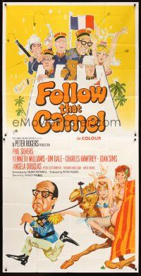 4s006 CARRY ON IN THE LEGION English 3sh '67 wacky art of Phil Silvers & cast, Follow That Camel!