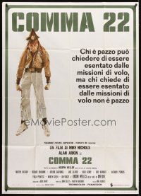 4s345 CATCH 22 Italian 1p '71 directed by Mike Nichols, Joseph Heller, completely different image!