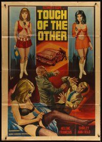 4s407 HOUSE OF HOOKERS Italian 1p '73 Touch of the Other, art of sexy prostitutes by Aller!