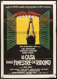 4s408 HOUSE OF THE LAUGHING WINDOWS Italian 1p '76 La Casa Dalle Finestre Che Ridono, Iaia art!