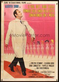 4s412 IL PROF. DOTT. GUIDO TERSILLI Italian 1p '69 art of Alberto Sordi & sexy ladies by Nistri!