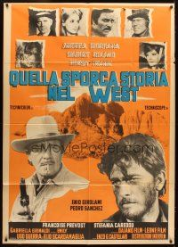 4s416 JOHNNY HAMLET Italian 1p '68 Gilbert Roland in William Shakespeare spaghetti western!