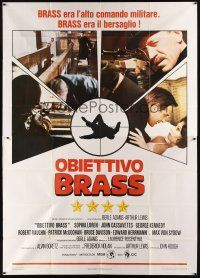 4s029 BRASS TARGET Italian 2p '79 Sophia Loren, George Kennedy & Von Sydow search for Nazi gold!