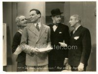 5x379 IT PAYS TO ADVERTISE 7.25x9.5 still '31 Carole Lombard w/ Norman Foster & Skeets Gallagher!