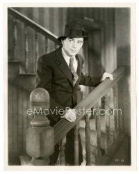 5x356 I AM A FUGITIVE FROM A CHAIN GANG 8x10 still '32 close up of escapee Paul Muni in suit!