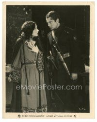 5x372 INTO HER KINGDOM 8x10 still '26 Russian Corinne Griffith with Revolutionary Einar Hanson!