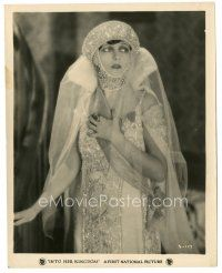 5x371 INTO HER KINGDOM 8x10 still '26 close up of deposed Russian Grand Duchess Corinne Griffith!