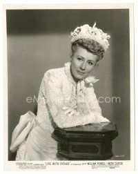 5x375 IRENE DUNNE 8x10 still '47 great portrait in cool lace dress from Life With Father!