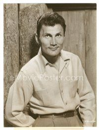 5x383 JACK PALANCE 7.25x9.5 still '55 great waist-high portrait from I Died A Thousand Times!