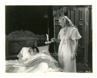 5x390 JANE EYRE 8x10 still '34 Virginia Bruce holding candle looks at Colin Clive in bed!