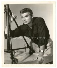 5x403 JEFF CHANDLER 8x10 still '51 great close portrait of Hollywood's Iron Man!