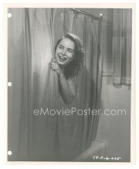 5x404 JET PILOT 8x10 key book still '57 naked Janet Leigh happy in shower 3 years before Psycho!