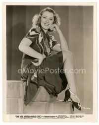 5x411 JOAN BLONDELL 8x10 still '37 sexy smiling portrait from The King and the Chorus Girl!