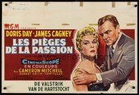 6a025 LOVE ME OR LEAVE ME Belgian '55 sexy Doris Day as famed Ruth Etting, James Cagney!