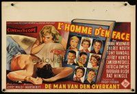 6a036 NO DOWN PAYMENT Belgian '57 Joanne Woodward, daring art of unfaithful sexy suburban couple!