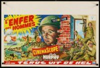 6a056 TO HELL & BACK Belgian R70s Audie Murphy's life story as a kid soldier in World War II!