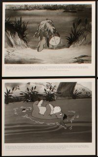 6f073 WINNIE THE POOH & A DAY FOR EEYORE presskit w/ 6 stills '83 Disney, great cartoon images!