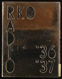 7k008 RKO RADIO PICTURES 1936-37 campaign book '36 Walt Disney chooses RKO over United Artists!
