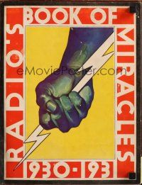 7k002 RADIO PICTURES 1930-31 campaign book '30 the most incredible yearbook art ever!