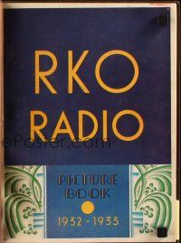 7k005 RKO RADIO PICTURES 1932-33 campaign book '32 incredible King Kong 2-page ad & much more!