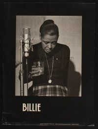 7x060 BILLIE HOLIDAY 18x24 music poster '81 Hinton photo of aging singer taking a break!