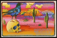 7x050 GRATEFUL DEAD radio poster '99 cool Arleigh & Chris O'Riley artwork of crow!